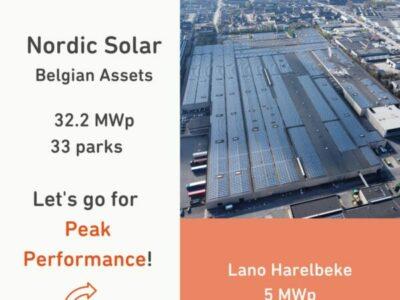 Solora beheert zonneparken 'Nordic Solar'.